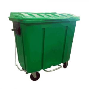 Container 700 Litros Com Pedal